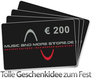 Music and More Store Gutscheine